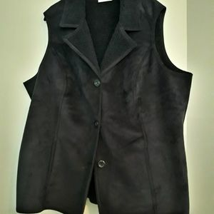 Plus size Brand new Faux Sherling Vest